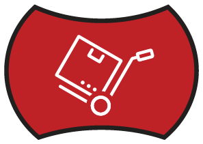 Warehouse Red Icon