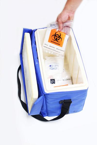 Expedite Delivery System Medical Specimen Bag