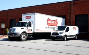 Expedite Delivery Service Truck and Van